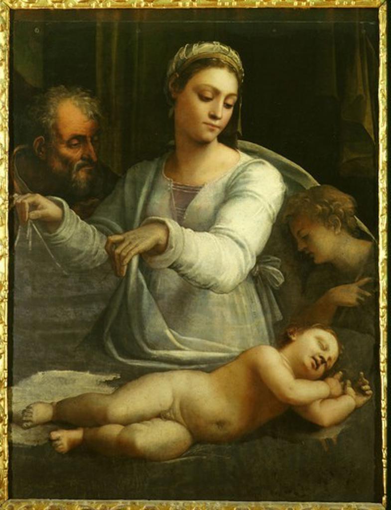 The Holy Family : Stock Photo