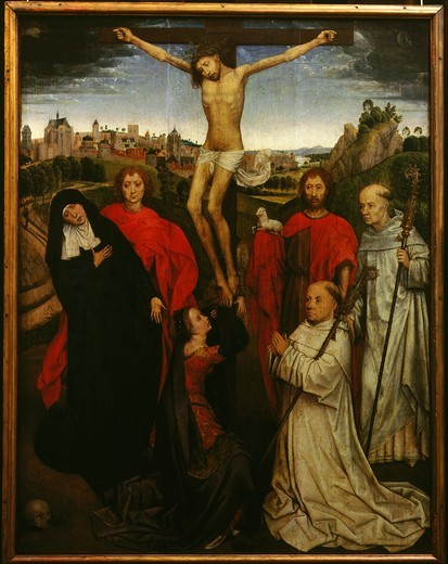 Stock Photo: 4069-3044 The Crucifixion