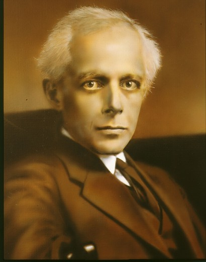 Stock Photo: 4069-3104 Bela BARTOK, 1881-1945 Hungarian composer (detail)