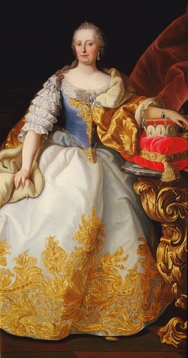 Stock Photo: 4069-3303 MARIA THERESA, 1717-80 Empress of Austria