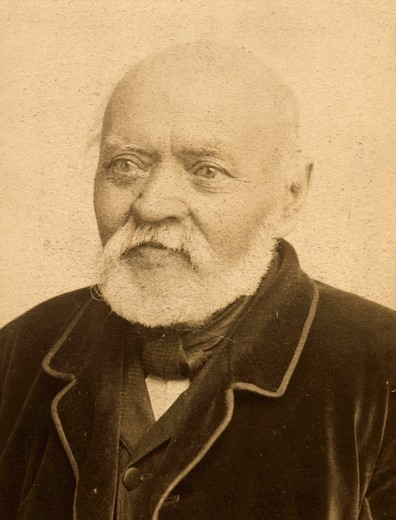 Frantisek Dvorak, father of Antonin DVORAK, 1841-1904 Czech composer, photograph : Stock Photo
