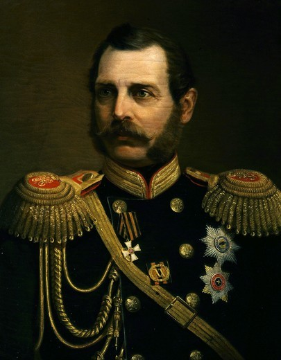 Stock Photo: 4069-3729 ALEXANDER II, 1818-1881, Tsar of Russia, 19th century