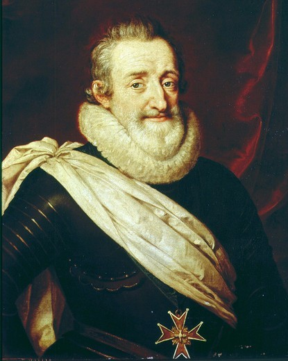 Stock Photo: 4069-3811 HENRY IV, 1553-1610 King of France and Navarre, late 16th century