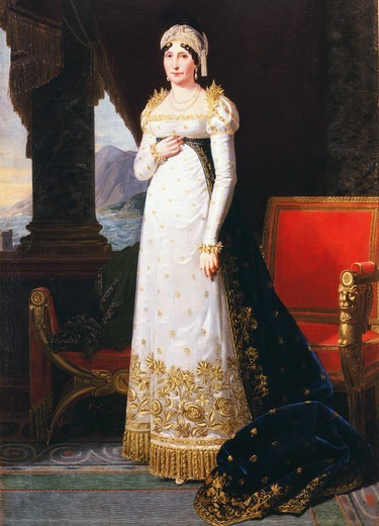 Marie-Laetitia or Letizia BONAPARTE, 1750-1836 n?e Ramolino, Corsican mother of Napoleon Bonaparte, 1813 (MV 6426) : Stock Photo