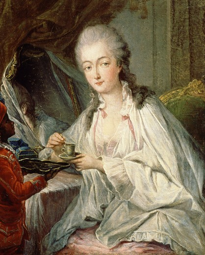 Stock Photo: 4069-4211 Madame du BARRY, 1743-1793 French, mistress of Louis XV