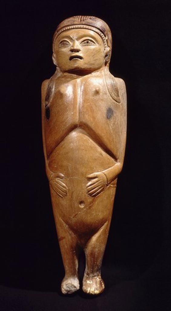 Stock Photo: 4069-4307 Agricultural fertility idol, c. 800 BC, Curayacu, Peru