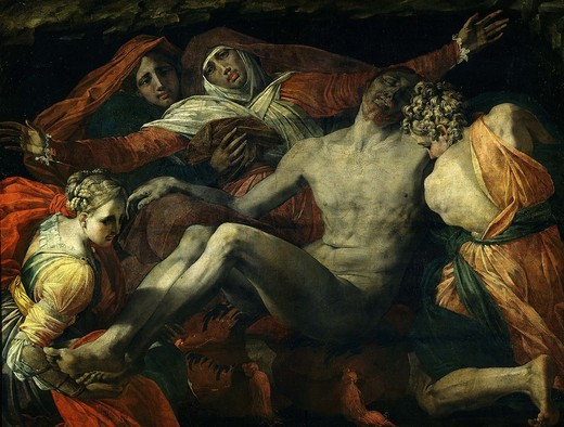 Pieta, painted c. 1530-35 : Stock Photo