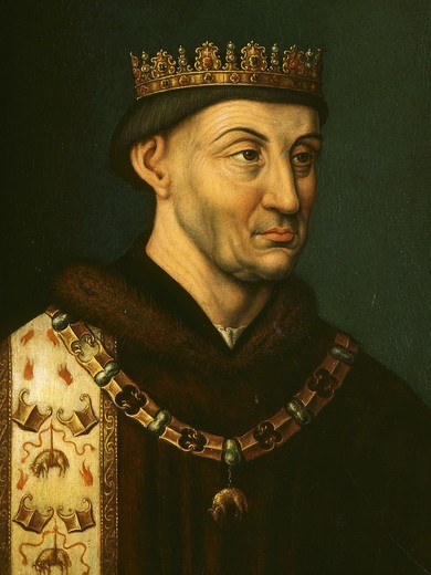 Stock Photo: 4069-5628 PHILIP the Good (Philippe le Bon), Philip III of France, 1396-1467, Duke of Burgundy, 16th century