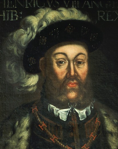Stock Photo: 4069-5974 HENRY VIII, 1491-1557 King of England, 18th century