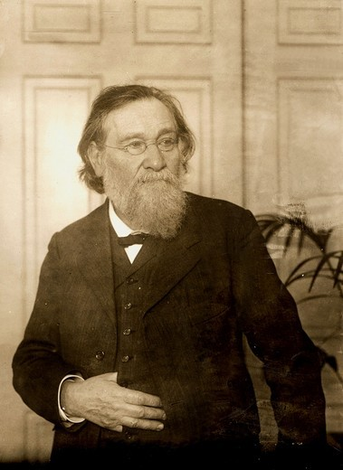 Ilya Ilyich MECHNIKOV, 1845-1916, Russian doctor and scientist, awarded Nobel Prize for Medicine and Physiology in 1908, early 20th century photograph : Stock Photo