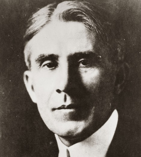 Zane GREY, 1872-1939, American author, known as the father of the Western Novel : Stock Photo