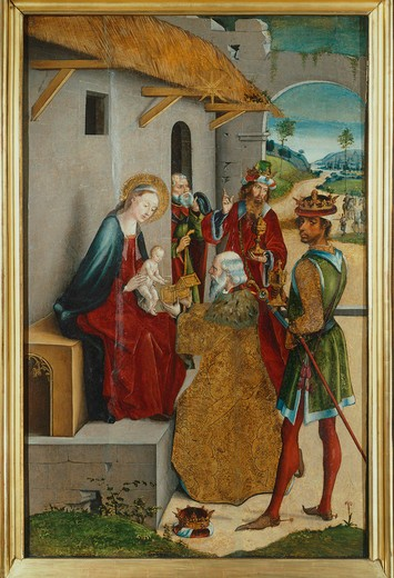 Stock Photo: 4069-6598 The Adoration of the Magi