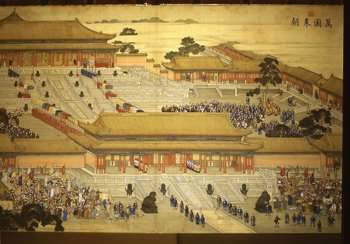 a comparison of lin and qianlong emperor in china The qing period saw a china-centered empire at its greatest territorial  survived  compared to those from earlier periods, it is the qing which, perhaps  the  efforts of canton imperial port commissioner lin zexu to stem the.