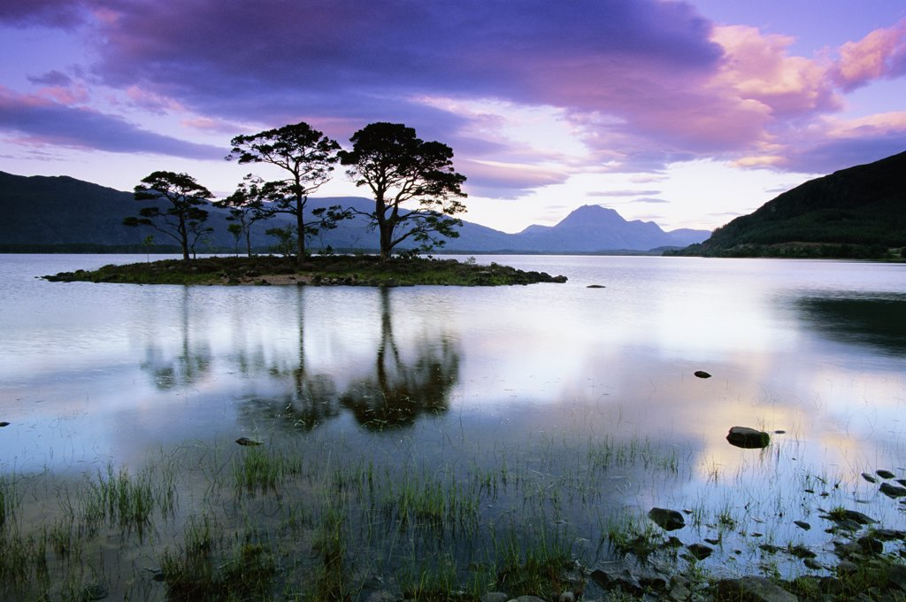 Stock Photo: 4070-8765 Loch Maree, Ross and Cromarty. Scotland.