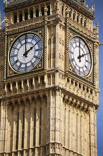 Big Ben clock tower, London, UK : Stock Photo