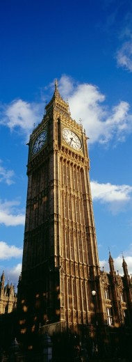 Big Ben clock tower, London, England, UK : Stock Photo
