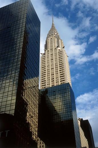Chrysler Building, New York City, USA : Stock Photo