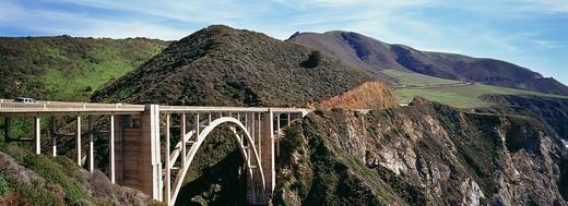 Bixby Bridge, Big Sur, California, USA : Stock Photo