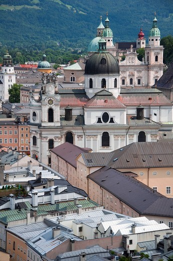Stock Photo: 4073R-2358 Salzburg Cathedral, Austria