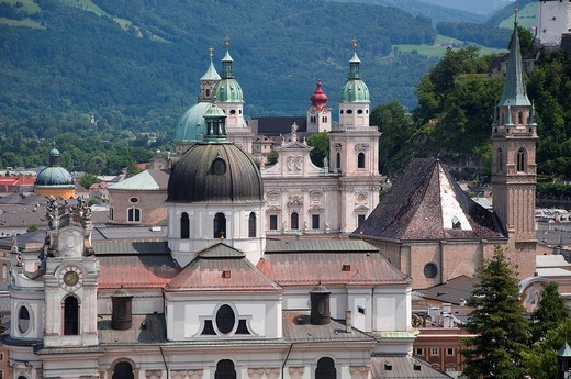 Salzburg Cathedral, Austria : Stock Photo