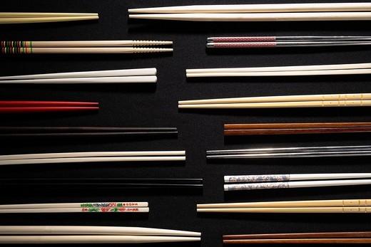 Still life of chopsticks : Stock Photo