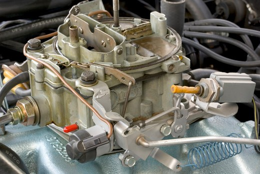 Stock Photo: 4093-10650 1967 Pontiac Firebird Convertible engine shots