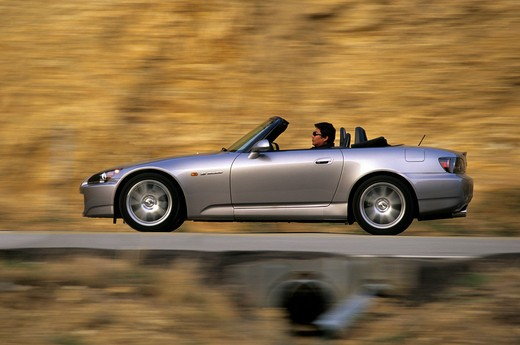 Stock Photo: 4093-12569 Honda S2000 2005 silver rocky