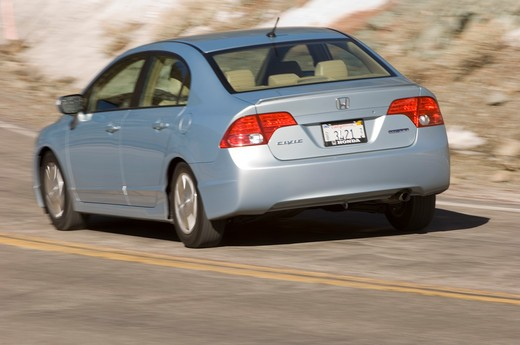 2007 Honda Civic Hybrid : Stock Photo
