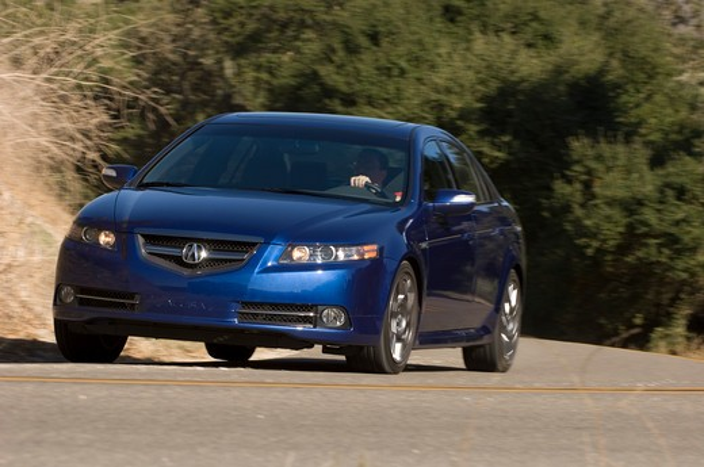 2007 Acura TL Type S Sedan : Stock Photo