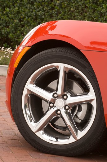 2007 Saturn Sky : Stock Photo