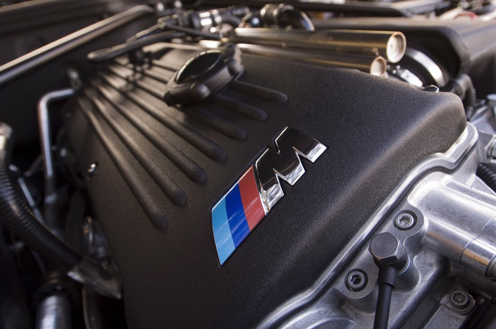 2007 dark blue BMW M Roadster : Stock Photo