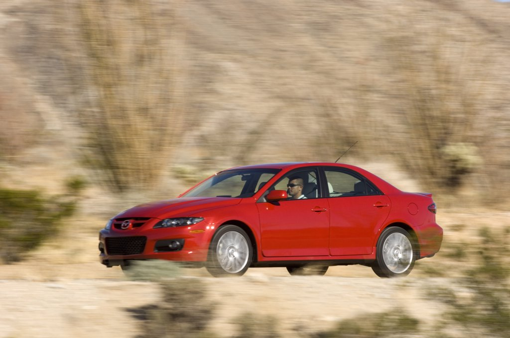 2007 Mazda MazdaSpeed6 Speed 6 six : Stock Photo