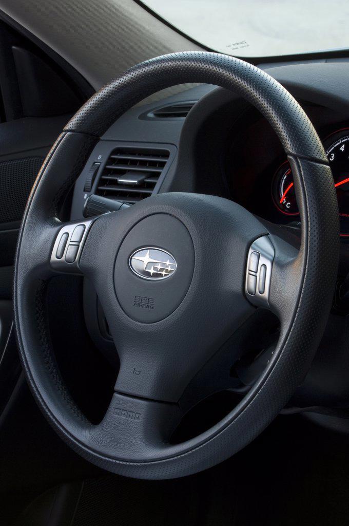 Stock Photo: 4093-13812 2007 silver Subaru Legacy 2.5 GT spec. B