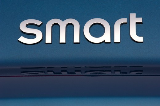 Smart ForTwo Passion Cabriolet close-up : Stock Photo