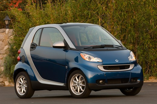 Stock Photo: 4093-14255 Smart ForTwo Passion Cabriolet parked