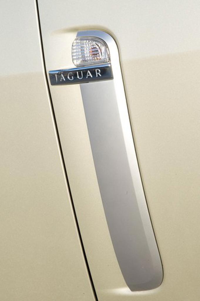 2008 Jaguar XKR close-up : Stock Photo