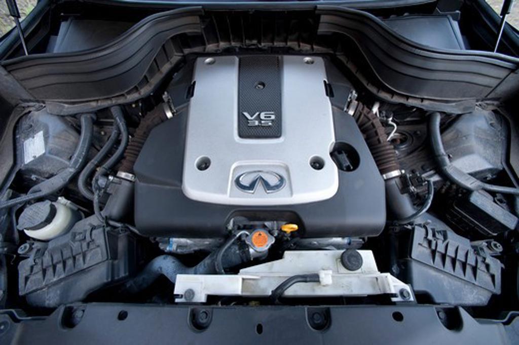 Stock Photo: 4093-14398 2008 Infiniti EX35 engine