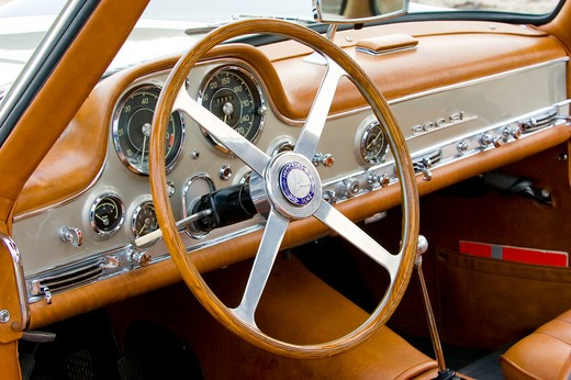 1955 Ralph Lauren Collection Mercedes Benz 300 SL 300-SL : Stock Photo