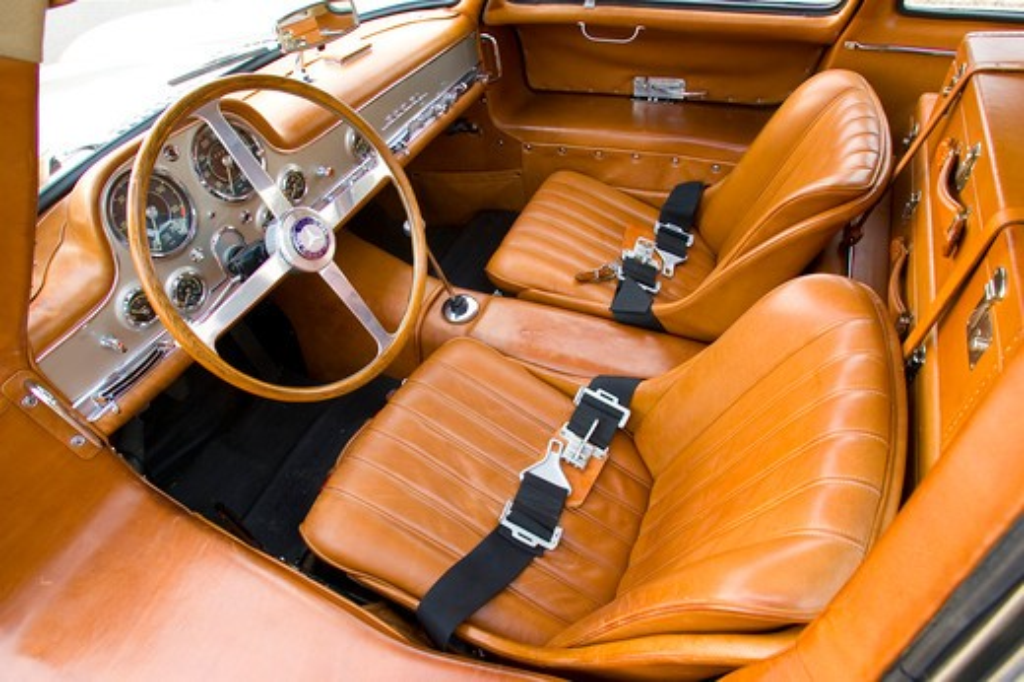 1955 Ralph Lauren Collection Mercedes Benz 300 SL 300-SL : Stock Photo