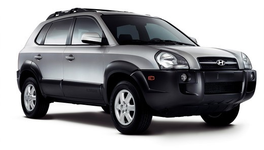 2007 Hyundai Tuscon Studio : Stock Photo