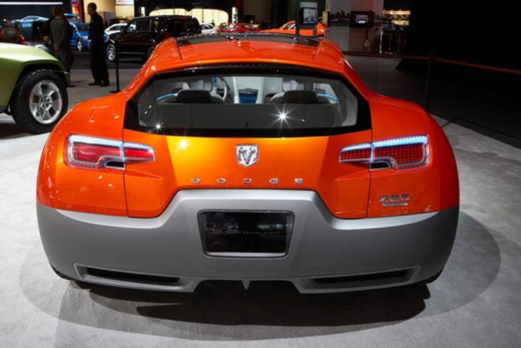 Stock Photo: 4093-20096 2009 Dodge Zeo concept car Detroit Auto Show