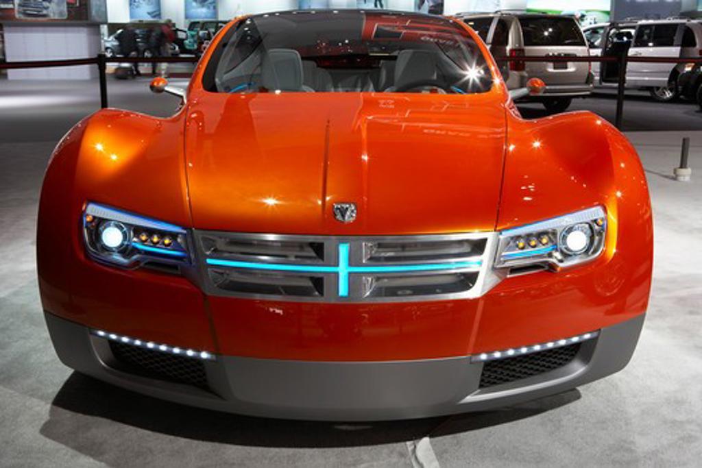 Stock Photo: 4093-20097 2009 Dodge Zeo concept car Detroit Auto Show