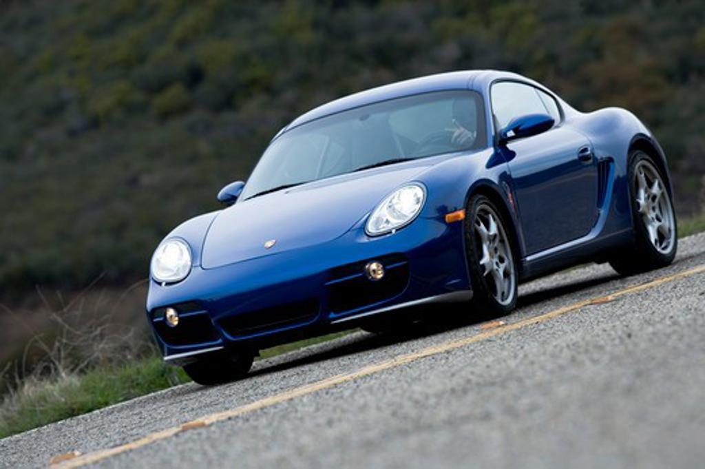 Stock Photo: 4093-22457 2006 Porsche Cayman S Blue