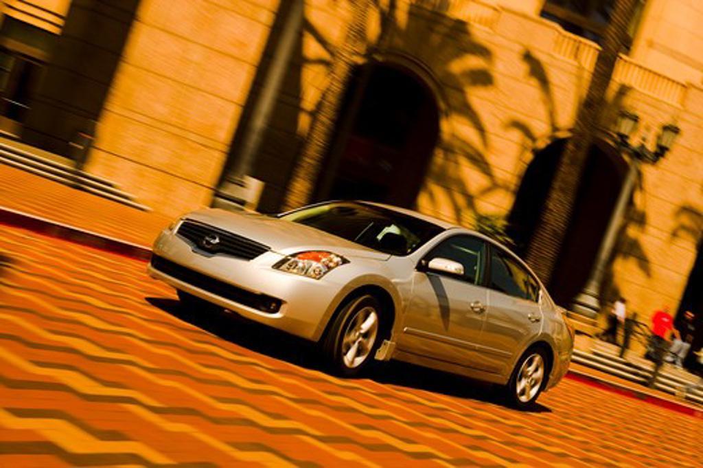 2006 Nissan Altima Silver : Stock Photo