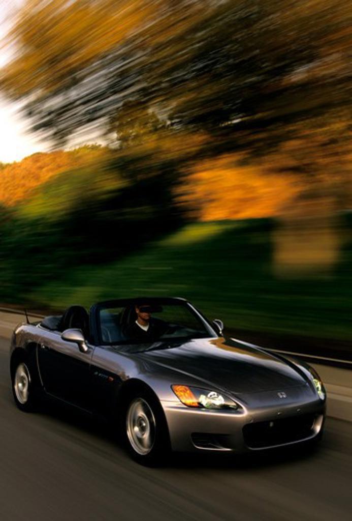 Stock Photo: 4093-23175 Honda S2000 2003 grey