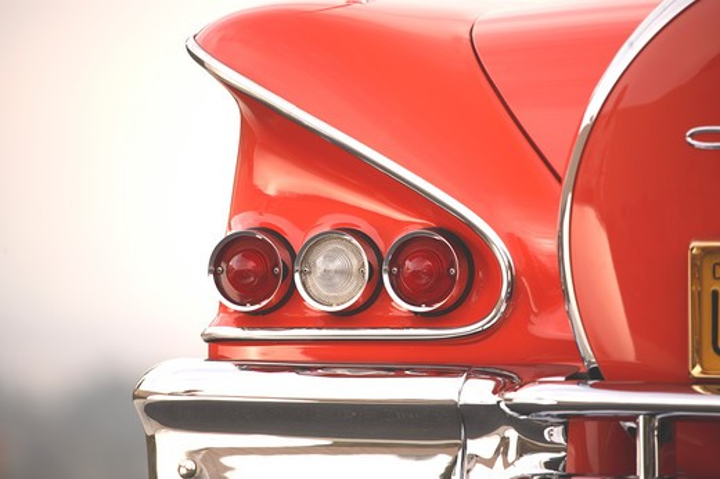Stock Photo: 4093-23485 1958 Chevrolet Chevy Impala