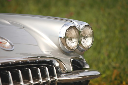 1959 Chevrolet Chevy Corvette : Stock Photo