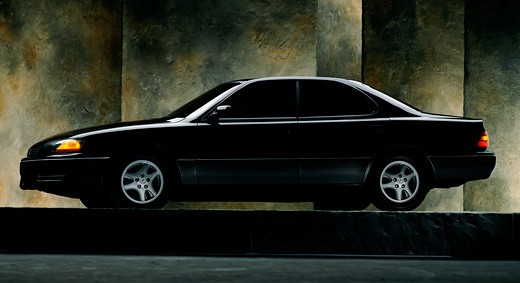 Stock Photo: 4093-24512 Lexus ES 400 1994 1990s black walls