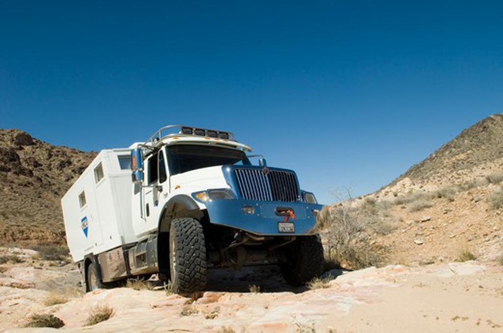 2007 Unicat Amerigo International Family  Expedition Vehicle : Stock Photo