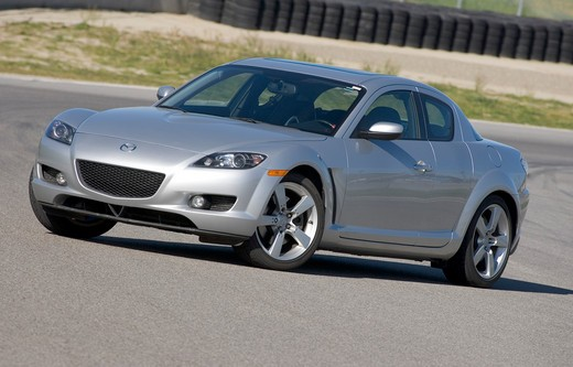 Stock Photo: 4093-2857 Mazda RX-8 2005 silver